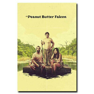 The Peanut Butter Falcon 24x36inch Shia LaBeouf Dakota Johnson Movie Silk Poster