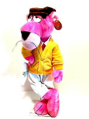 Pink Panther Touch of Velvet 1980 Plush Collectible Toy 15.5 inches Tall