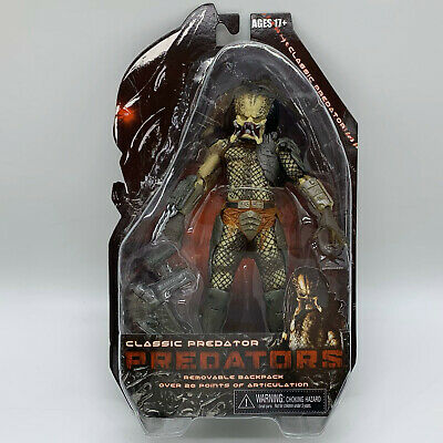 Predators Classic Predator Action Figure Doll Alien Hunter Toy 8""