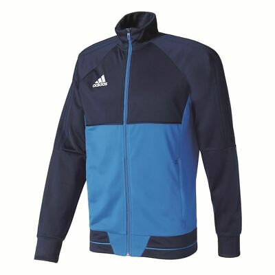 Adidas Mens Tiro 17 Football Training Jacket Full Zip Track Top Sports Navy Blue
