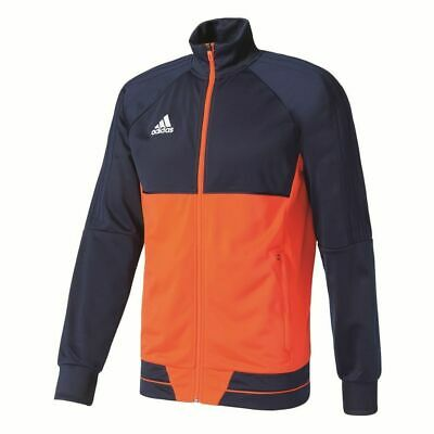 Adidas Mens Tiro 17 Football Training Jacket Full Zip Track Top Sports Navy Oran