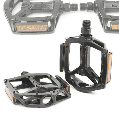 1 pair Alloy Widen Bike Pedals Sealed Bearing Mountain Road Bike Flat Platform