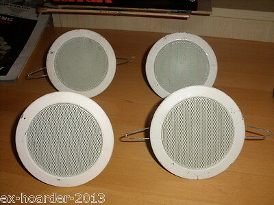 APart CCM 6 Ceiling speakers. 3 and 1 for spares.