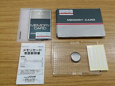 Fujisoku SRAM 64 KBYTE Memory Card Type BS64F1-C Branded For Yamaha Motors