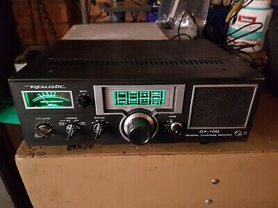 Vintage REALISTIC DX-100 4 Band General Coverage Receiver