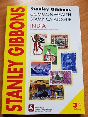 Stanley Gibbons India stamp catalogue 3rd edition 2009 used