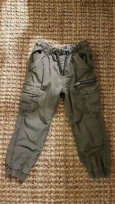 Boys Next Khaki Trousers Jeans Joggers excellent condition 5years