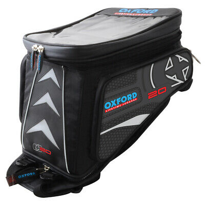 Oxford X20 Adventure quick release motorcycle luggage - OL236