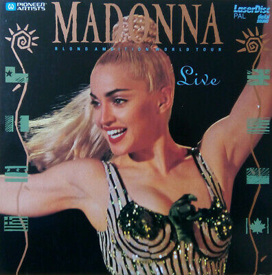 LaserDisc Madonna ‎– Blond Ambition World Tour Live Gatefold  Cover EUROPE ç