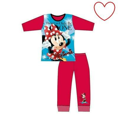 Disney Girls Minnie Mouse Pajamas Official Kids