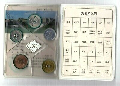 Japon 1975  Mint Set