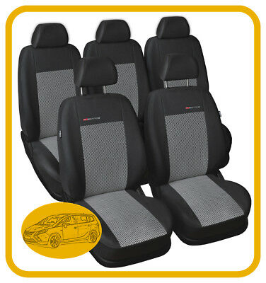 Fully tailored seat covers for Vauxhall Zafira C Tourer 2012 - on  5 seats