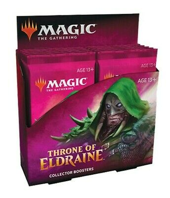 Magic the Gathering Throne of Eldraine Collector Booster Box FACTORY SEALED MTG