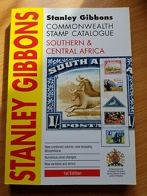 Stanley Gibbons Southern & Central Africa stamp catalogue 1st Edition, 2011