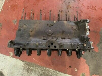 Original Jaguar MK9 MKIX 3.8 Engine Block.  Standard bores.
