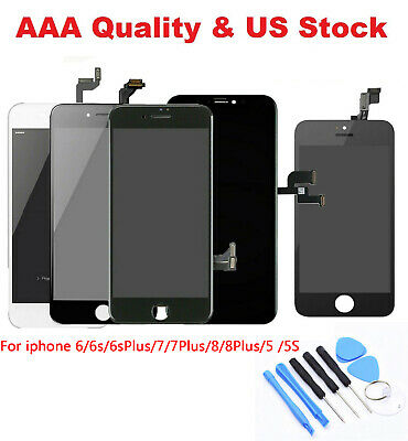 LCD Display Accembly Digitizer Touch Screen Replacement For iPhone 6 6s 7 8 Plus