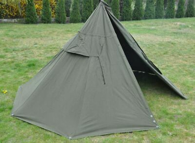 Set 2 Military Polish Army Poncho or 1 Tent. BIGGEST SIZE 3.New. Lavvu.Canvas