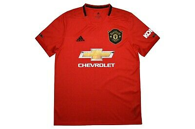 Manchester United F.c Shirt Adult Home 2019/20 New Shirt With Tags Uk Stock