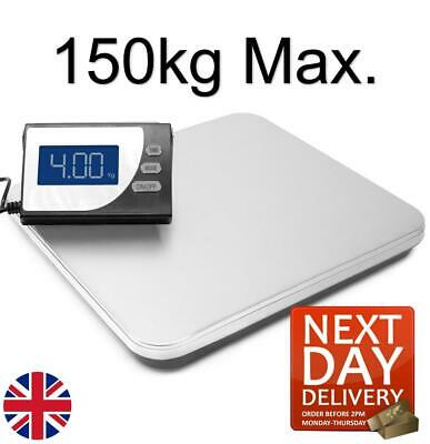 Professional 150Kg Heavy Duty Postal Parcel Scales Weighing Stainless Steel
