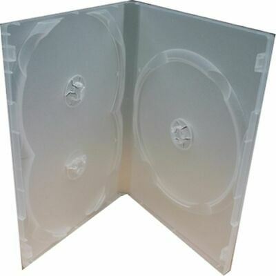 1PC Clear 3 Disc Holders DVD CD Case Movie Box Storage Holder Cover Portable l