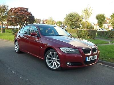 BMW 320 2.0i SE AUTOMATIC 4 DOOR SALOON ( RARE CORAL RED COLOUR )