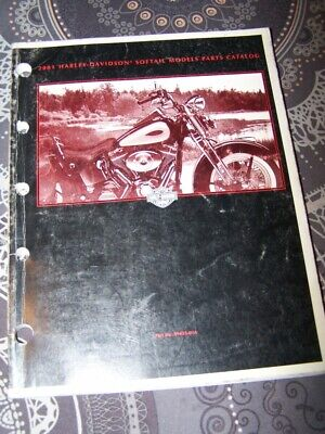 33 - Parts Catalog Harley Davidson Official Manual SOFTAIL Models 2001