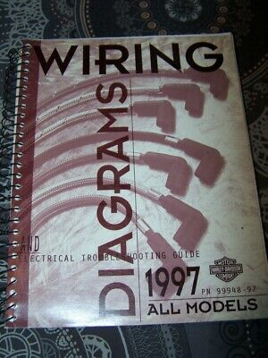 3O - Wiring Diagrams Electrical Troubleshooting Guide Harley Davidson 1997 ALL