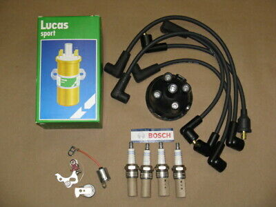 AccuSpark Electronic Performance Tune Up Kit For Lucas 45D Fitted to MGB 74-81