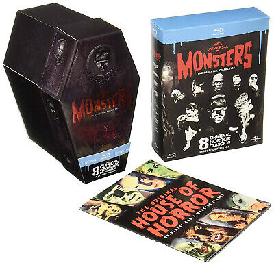 Pack MONSTERS: THE ESSENTIAL COLLECTION (UNIVERSAL) Blu-Ray . dracula