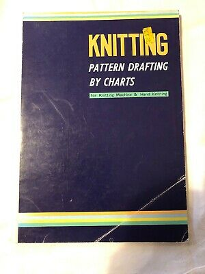 knitting pattern drafting by charts Vintage collectable