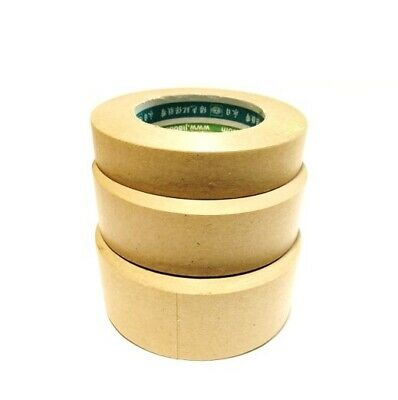 "2"" Water Activated Gummed Kraft Paper Tape (1) 164' Roll"