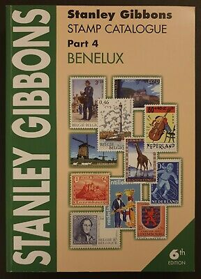 Stanley Gibbons Stamp Catalogue Benelux 6th Edition