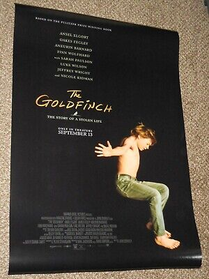"The Goldfinch ""B"" 27x40 Original D/S Movie POSTER"