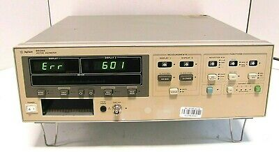 Agilent HP 8508A Vector Voltmeter Mainframe, As IS