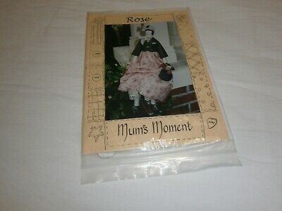 "Mum's  Moment ""Rose"" Cloth Doll Pattern C 1999 - 65 Cms Tall - So Beautiful"