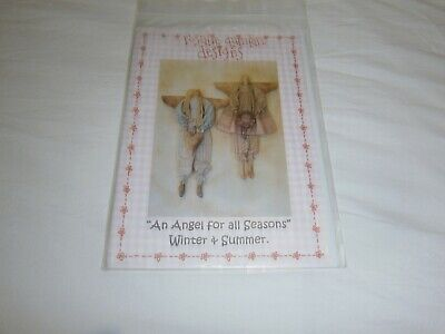 "Rosalie Quinlan ""An Angel For All Seasons"" Cloth Doll Pattern - 50 Cms Tall"