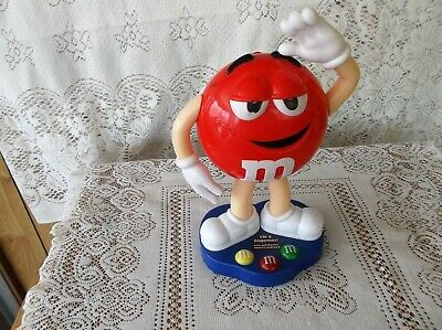 M&M RED Collectable Dispenser VGC