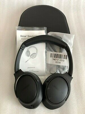 Bose SoundTrue around-ear headphones II - Apple device, Charcoal USED With Box