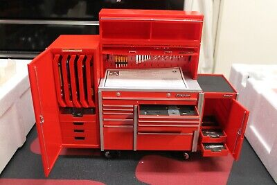 New Large Snap-On 1:8 Scale Krl Series Workstation Bank Replica Tool Box Model