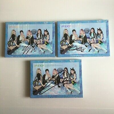 *NEW/SEALED* ITZY IT'z ICY OFFICIAL CHOICE OF MEMBER SIGNED ALBUM [ICY VERSION]