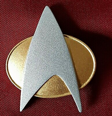 Star Trek The Next Generation Communicator Pin Combadge Badge Uniform Costume
