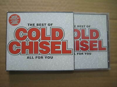 The Best Of Cold Chisel All For You AUSSIE 2 x CD - Bonus Disc 12 Cover Versions