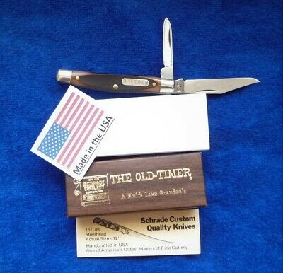 "Schrade USA 33OT Old Timer ""Middleman Jack"" Knife in Box with Papers"