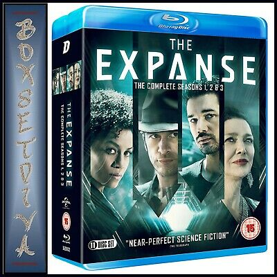 The Expanse Complete Seasons 1 2 3  **Brand New Blu-Ray Boxset ***