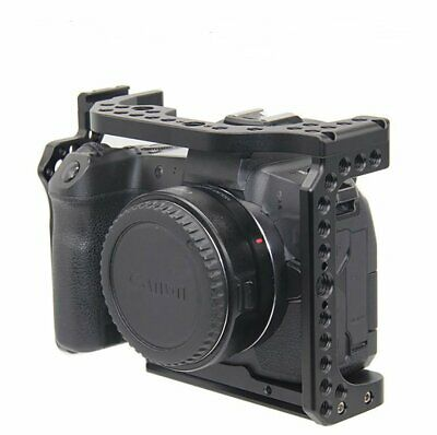 Camera Cage  with Built-in Arca Swiss Plate ARRI Locating Holes for Canon EOS R