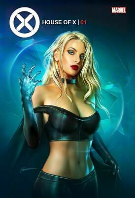 House Of X #1 Shannon Maer Variant White Queen Emma Frost X-Men Wolverine Jean