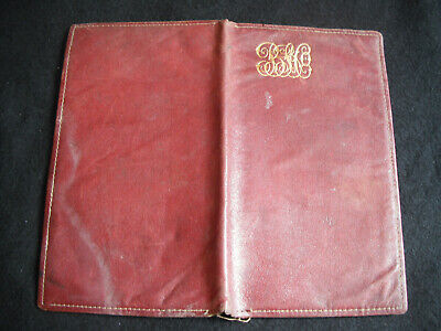 Brown, Shipley & Co pre-war leather wallet (for credit cheques?)