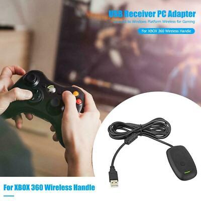 For Windows PC Microsoft Xbox 360 Wireless Receiver Game Controller Adapt C6K3D