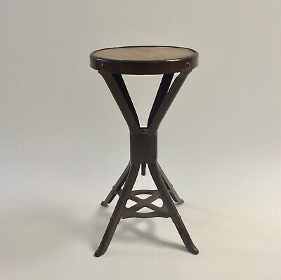 Early Brooks Evertaut Machinist Factory Stool - Industrial Vintage workshop