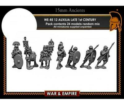 FIB Ancient Mini Roman 15mm Auxilia, Late w/Javelins - Early Imperial Pack MINT